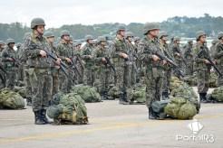 """Apronto Operacional para início do Exercício Militar """"Agulhas Negras"""". (Foto: Alex Santos/PortalR3)"""