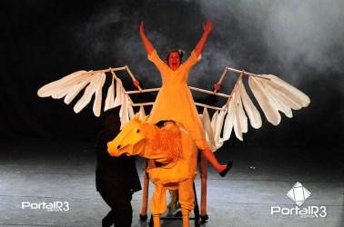 "Espetácul infantil ""As estrelas do Céu"" no Feste 2018. (Foto: Luis Claudio Antunes/PortalR3)"