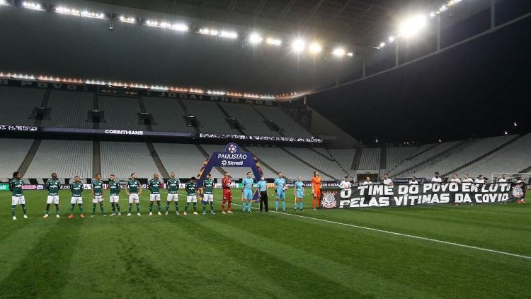 FPF define árbitro do primeiro jogo entre Corinthians e Palmeiras; confira