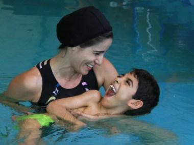 Curso de reabilitação aquática