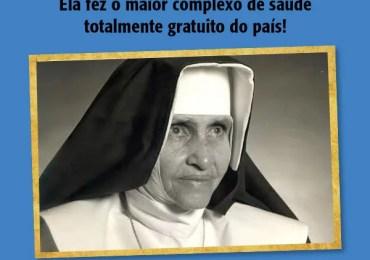 Em 01 de julho será anunciada a data da santificação de Irmã Dulce