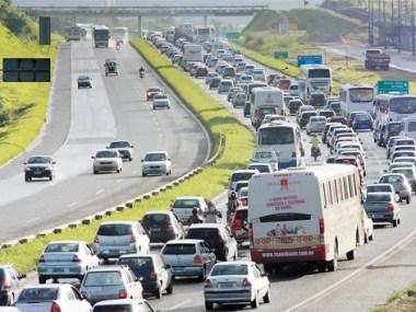 Mais 500 mil veículos vão para o interior