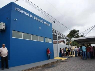 Estado inaugura hospital em Irará