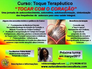 Curso Toque terapeutico