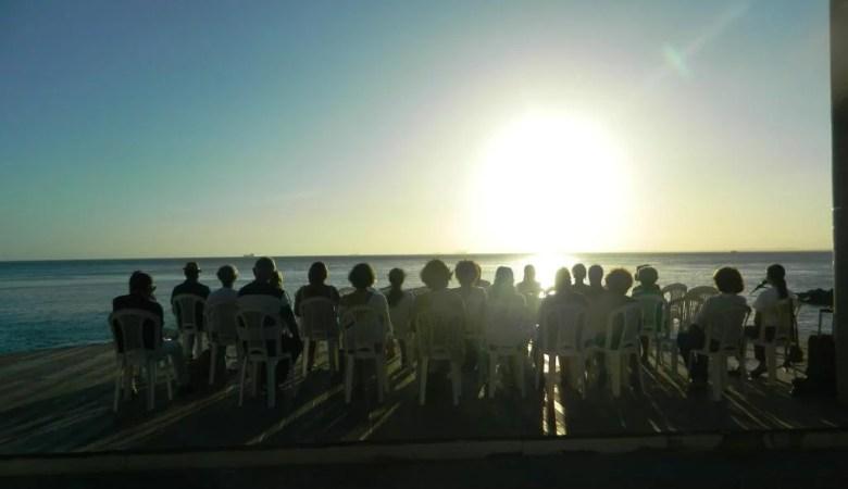 Meditação gratuita, na Barra