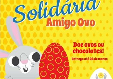 """Apae: Páscoa Solidária """"Amigo Ovo"""""""