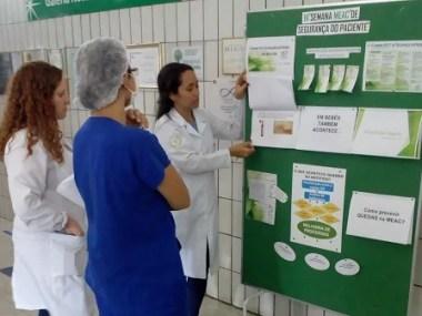 Rede de hospitais Ebserh promove  ações prol da segurança do paciente