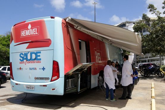 Roteiro do hemóvel em Salvador, Feira de Santana e Dias 'D Ávila