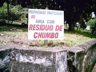 Chumbo em Santo Amaro e os impactos para a comunidade