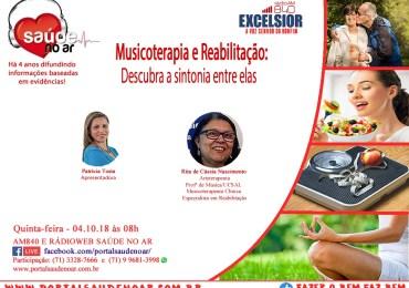 Conexão entre Musicoterapia e Reabilitação.