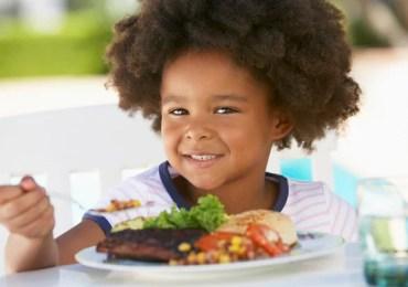 Alimentos Saudáveis na pré escola