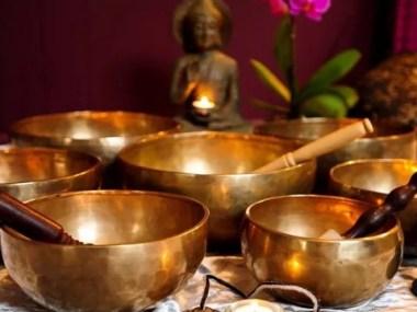 Palestra gratuita: Gongos e taças tibetanas