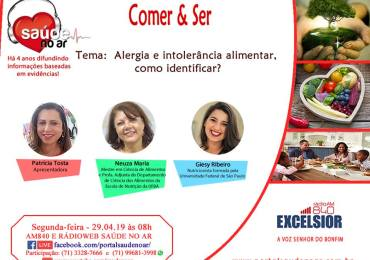 Alergia e intolerância alimentar, como identificar?