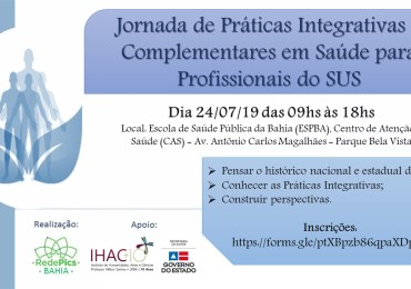 Jornadas de práticas integrativas