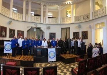 Abrol dá posse a nova diretoria e faz homenagem à Calazans Brandão e Tobias Barreto