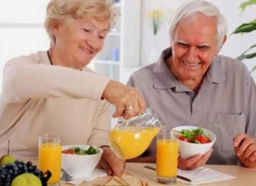 Envelhecimento - Alimentação  e qualidade de vida
