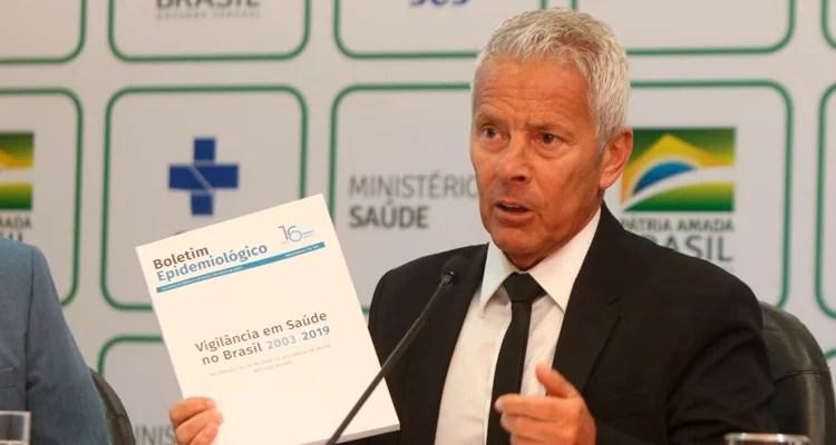 Ministério da Saúde lançou publicação com dados de doenças que atingiram o país nos últimos 16 anos