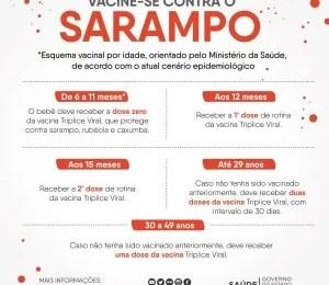 Sarampo - Informações e orientações