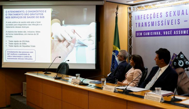 Ministério lança campanha contra infecções sexualmente transmissíveis