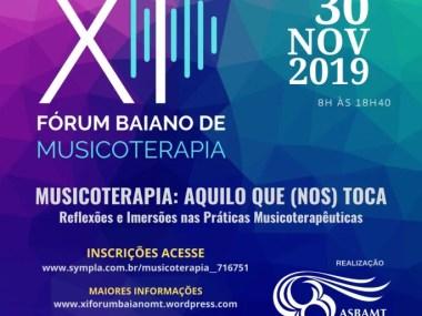 XI Fórum Baiano de musicoterapia