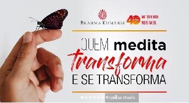 Palestra e meditação gratuita - Brama Kumaris