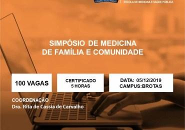 Simpósio discute Medicina da Família e Comunidade