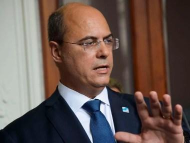 Wilson Witzel, governador do RJ, testa positivo para novo coronavírus