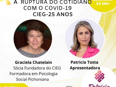 A ruptura do cotidiano com a covid 19
