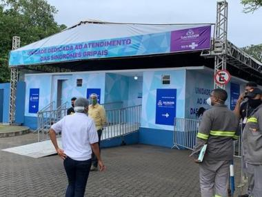 Primeiro gripário de Salvador é inaugurado na UPA dos Barris