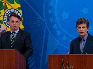 O conflito continua - Bolsonaro é contra o isolamento, ministro da saúde é a favor