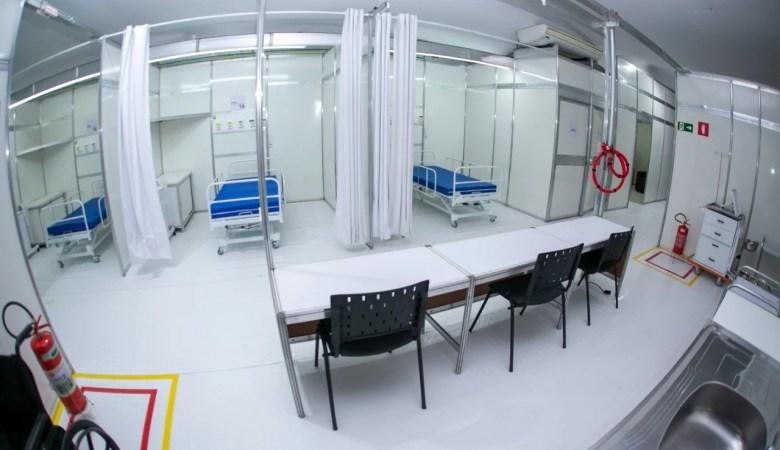 Governo cria 57 novos leitos no extremo-sul para pacientes com Covid-19