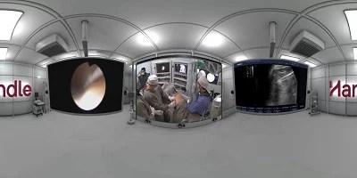 Médico do Hupes grava pela primeira vez uma cirurgia com 360 graus de liberdade de visão
