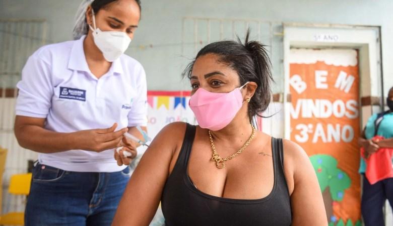 Confira a programação da vacinação em Salvador nesta quarta- feira (20/07)