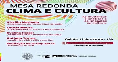 Clima e cultura mobilizam debate na Academia de Letras da Bahia