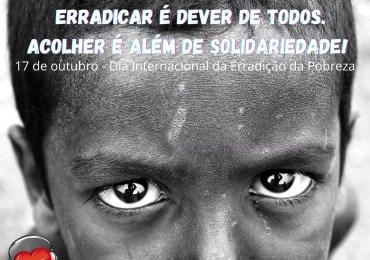 Pobreza, erradicar é dever de todos