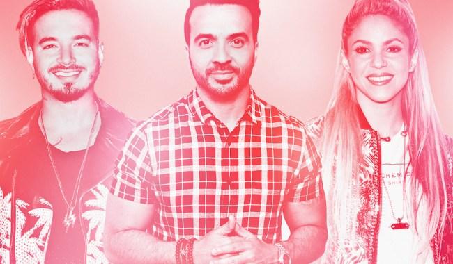 Luis Fonsi, Shakira e J Balvi fizeram história no YouTube em 2017