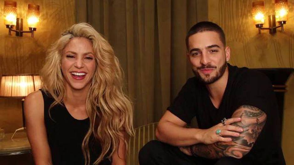 Feliz aniversário Maluma Espero que você esteja comemorando com algo de Trap! - Shakira