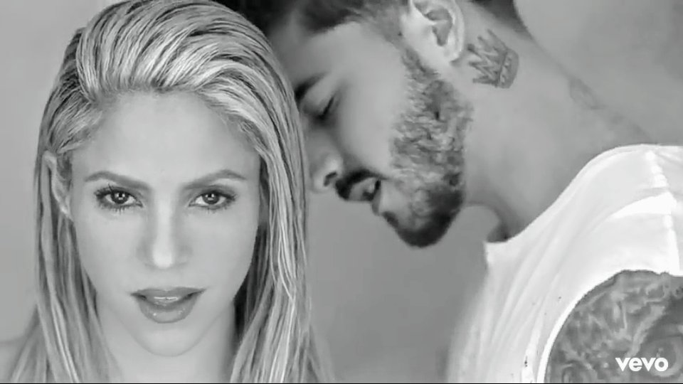 TRAP é sucesso absoluto no youtube.(Shakira & Maluma)