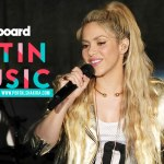 Shakira lidera indicações aos Latin Billboards Music Awards