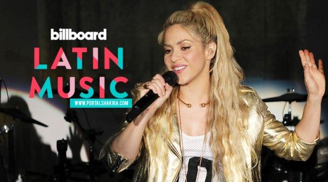Shakira lidera indicações aos Latin Billboards Music Awards