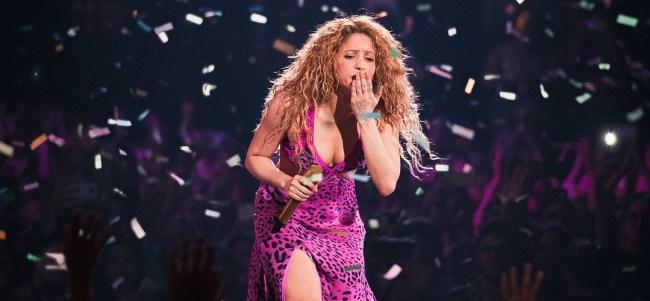 Cumbia de Colombia, Luxemburgo vai ao delírio com Shakira - El Dorado World Tour
