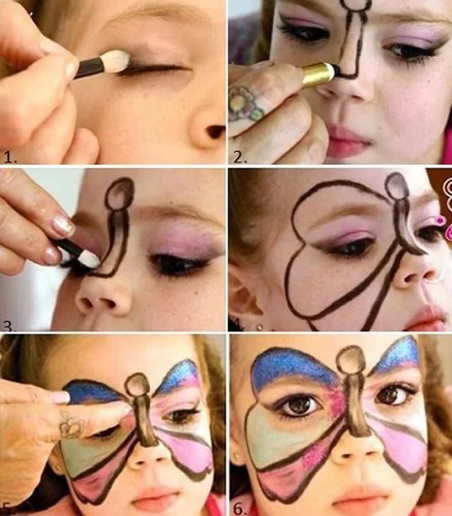 maquiagem-infantil-para-carnaval-borboleta
