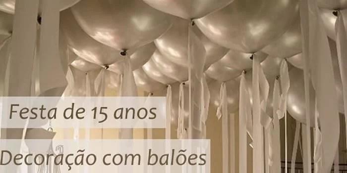 festa-de-15-anos-tematica-decoracao-com-baloes