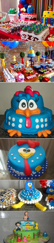 festa-infantil-galinha-pintadinha-bolo-doces