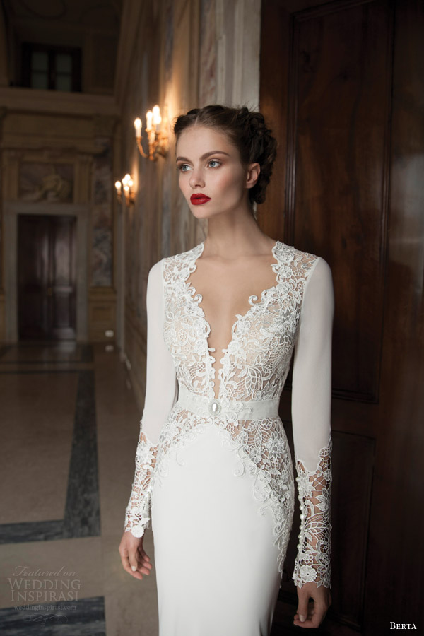 berta-wedding-dresses-2014-long-sleeve-gown