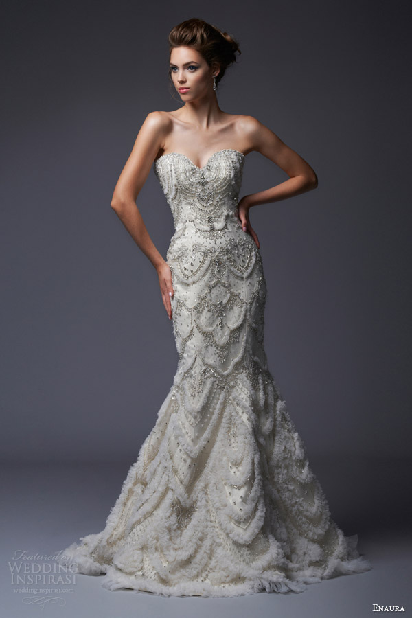 enaura-bridal-fall-2013-strapless-wedding-dress-style-ef341