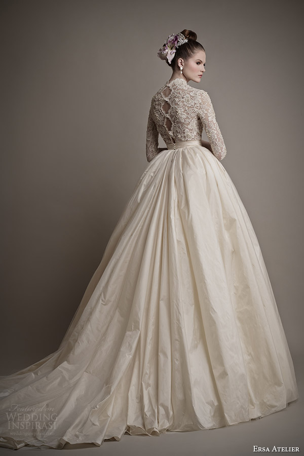 ersa-atelier-wedding-dresses-2015-charlotte-ball-gown-lace-bodice-sleeves-back-train