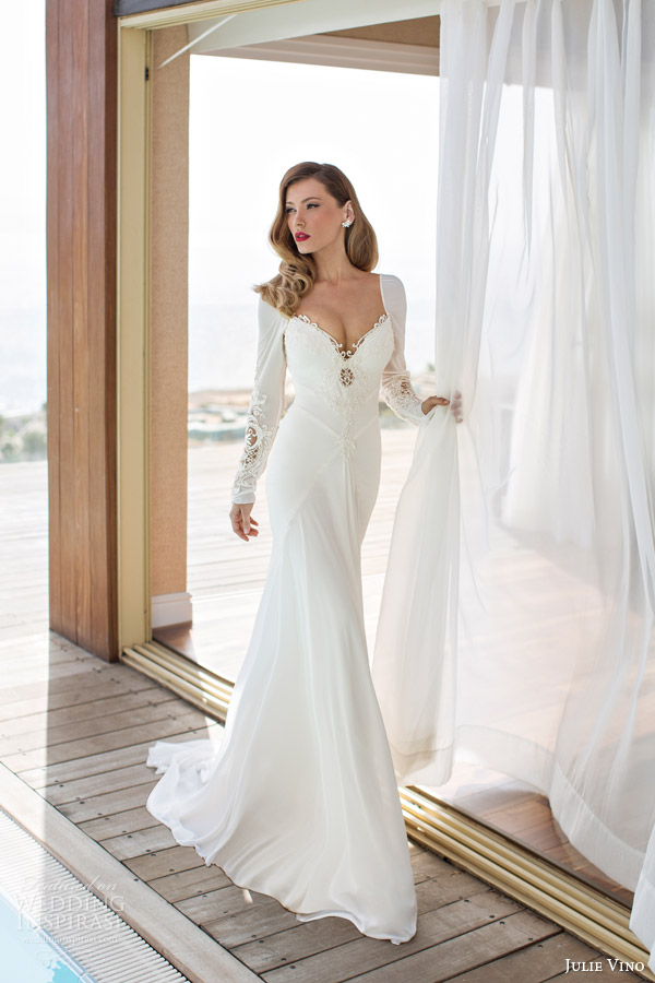 julie-vino-spring-2014-melanie-wedding-dress-long-sleeves