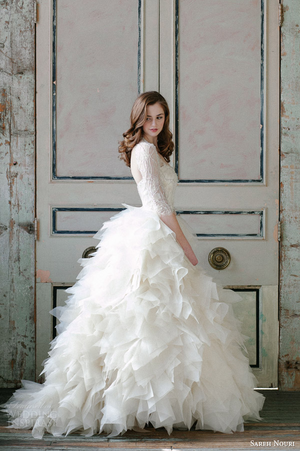 sareh-nouri-spring-2015-sawyer-sleeve-ball-gown-wedding-dress