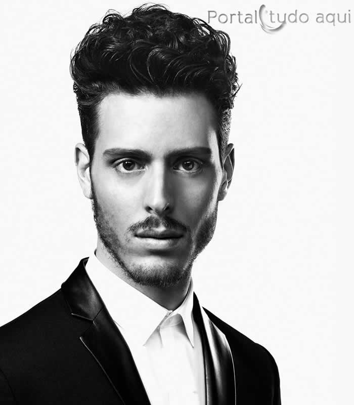 Hair by Denmark Country Finalist Kevin Birk (Photo by David Raccuglia for American Crew)